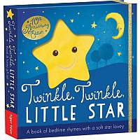Twinkle, Twinkle, Little Star: A book of bedtime rhymes with a soft star lovey