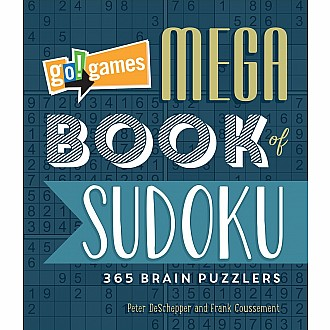 Go!Games Mega Book of Sudoku: 365 Brain Puzzlers