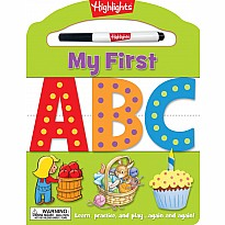 My First ABC: Learn, practice, and play again and again!