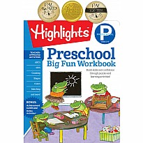 Preschool Big Fun Workbook