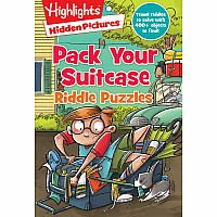 Pack Your Suitcase Riddle Puzzles