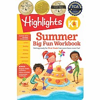 Summer Big Fun Workbook Bridging Grades K & 1
