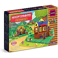 Magformers Log Cabin 87 pcs