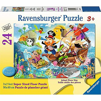 Land Ahoy 24Pc Floor Puzzle
