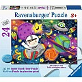 Puzzle 24 Pc Space Rocket
