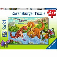 24 pc x 2 Dinosaurs At Play