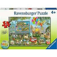 Pet Fair Fun Puzzle 35 pc