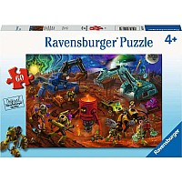 Space Construction 60Pc Puzzle