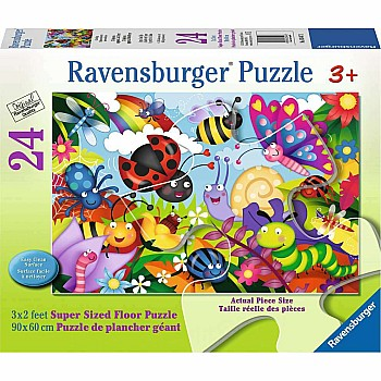 24pc Puzzle - Cute Bugs