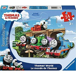 24pc Puzzle - Thomas's World