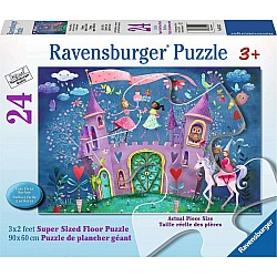 The Brilliant Birthday 24pc floor puzzle
