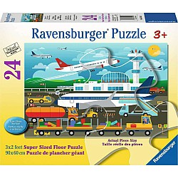 24pc Puzzle - Preparing to Fly