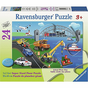 24pc Puzzle - A Day on the Job