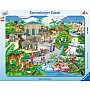 Visit To the Zoo Puzzle (45 pc)