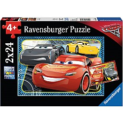 Cars 3: I Can Win! 2x24pc puzzle