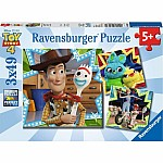 3x49pc Toy Story 4 - In It Together
