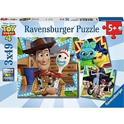 3x49pc Puzzle - Toy Story In it Together!