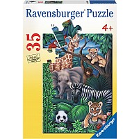 Animal Kingdom - 35 Piece Puzzle
