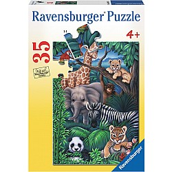 35pc Puzzle - Animal Kingdom