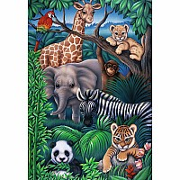 35 pc Animal Kingdom