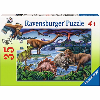 35pc Puzzle - Dinosaur Playground