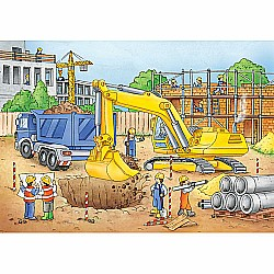 Busy Builders Puzzle (35 pc)