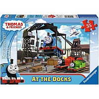 35 Piece Thomas & Friends: At the Docks Puzzle