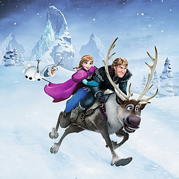 3x49 pc Winter Adventures Frozen Puzzles