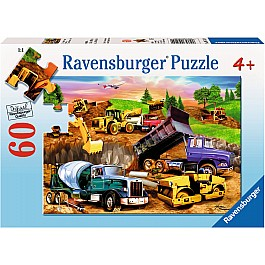 Contruction Crowd 60 pc Puzzle