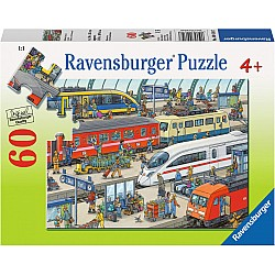 60pc Puzzle - Railway Station
