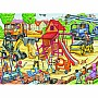 Ravensburger Building a Playground Jigsaw Puzzle (60 Piece)