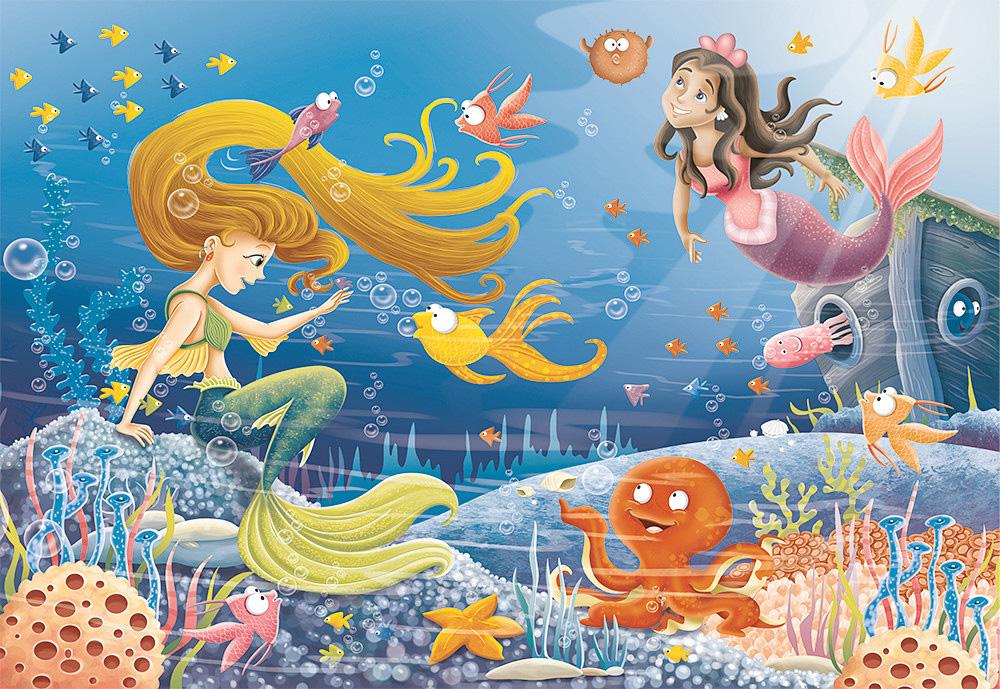 Mermaid Tales Puzzle - Grand Rabbits Toys in Boulder, Colorado