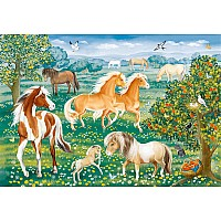60 Piece Mustang Meadow Puzzle