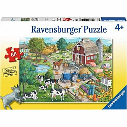 60pc Puzzle - Home on the Range