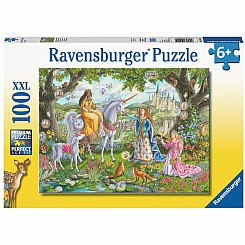 100 Piece Princess Party Puzzle