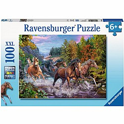 100 pc Rushing River Horses