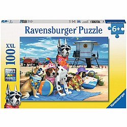 100pc Puzzle - No Dogs on the Beach