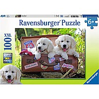 100 pc. Puzzle - Traveling Pups