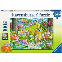 Fairy Playland 100 Piece Puzzle