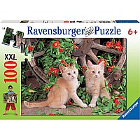 Pretty Kitties 100 pc Puzzle