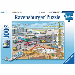 100 Piece Construction at the Airport Puzzle