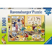 Ravensburger At the Vet's Office 100 pc Puzzle