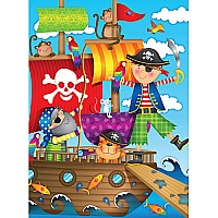 Ravensburger Pirate Adventure 100 pc Puzzle