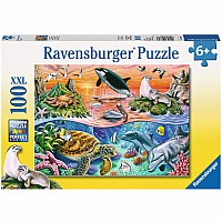 Ravensburger Beautiful Ocean 100 pc Puzle