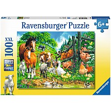 Animal Get Together - 100 Piece