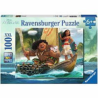 Moana and Maui (100 PC Puzzle)