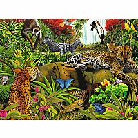 Wild Jungle Puzzle 100 Pc