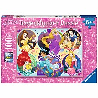Princesses 100 pc Puzzle