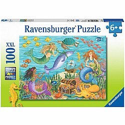 100pc Puzzle - Narwhal's Friends