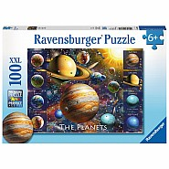RAVENSBUGER 100pc Puzzle -The Planets